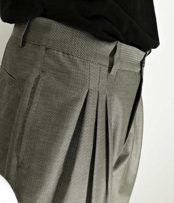 Pantaloni vintage da tango e swing Viola Clandestina - dettaglio pences