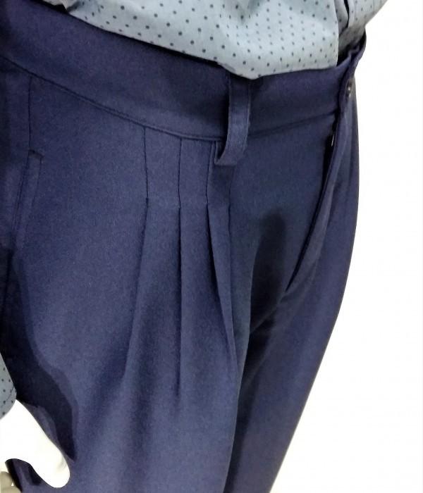 Pantaloni vintage da tango e swing ViolaClandestina - dettaglio pences