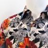 Camicia da tango, swing e vintage  in puro cotone di alta qualità LINEA SARTORIALE FIOR  D