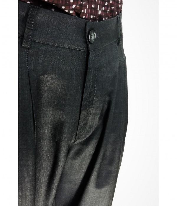 Pantalone da tango, swing e vintage in tessuto Bio tecnico tencel traspirante e leggero LINEA RUBEN ANTRACITE di ViolaClandestina