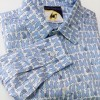 Camicia da tango, swing, vintage in puro cotone LINEA SARTORIALE GATTINI PREZIOSI di ViolaClandestina - particolare davanti